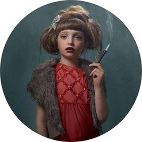 Arrêter de fumer Bordeaux - Illustration Smoking Kids - Peinture de FRIEKE JANSSENS